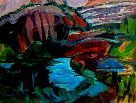 Betty Pieper - Southwest Scene After Gauguin