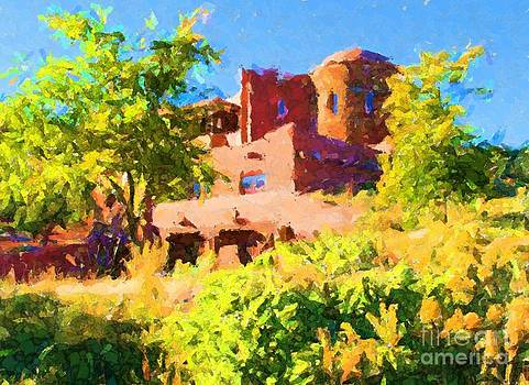 Southwestern Mansion 2 by Annie Gibbons