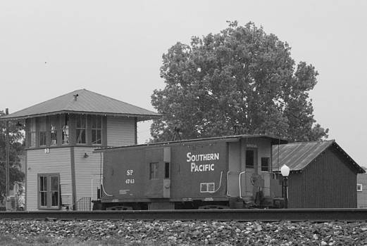 SP Caboose Flatonia Tx by Rod Andress