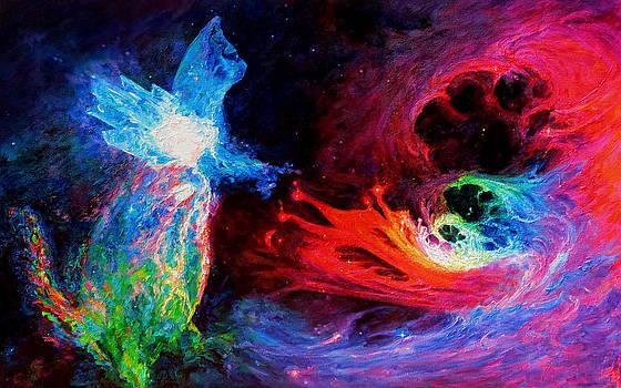 Julie Turner - Space Cat Angel - 2