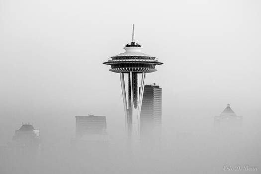 Space Needle Disappearing by Eric Bean