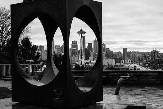 Space Needle in a box.  by Maik Tondeur