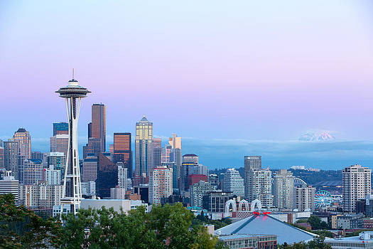 Space Needle Mount Rainer by David Williams