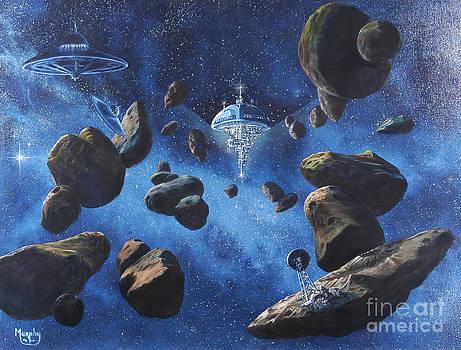 Space Station Outpost Twelve by Murphy Elliott
