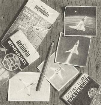 Space Trek Snapshots by C Sergent Lindsey