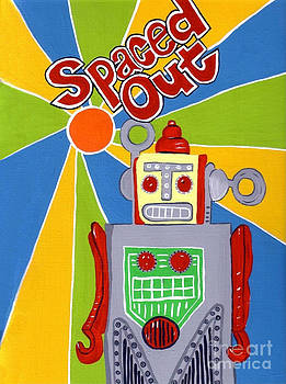 Spaced Out   ToyRobot by Lynnda Rakos