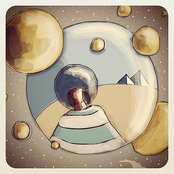 SpaceMan III by Baard Martinussen