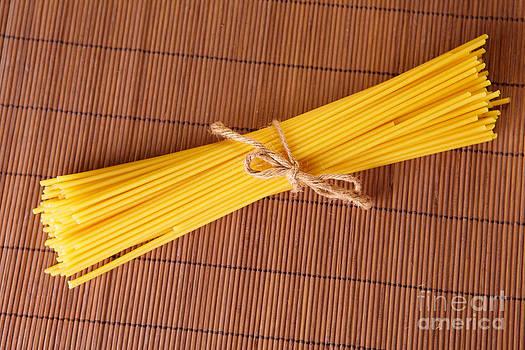 Spaghetti Italian pasta by Monika Wisniewska