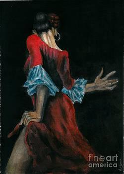 Spain Dance Women by Ayman Youssif