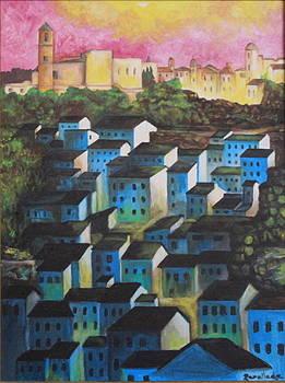 Little town of Spain by Jorge Parellada