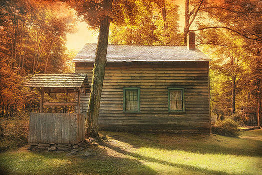 Spangenburg Cabin by Pat Abbott