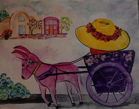 Spanish Cart by Shirley Watts
