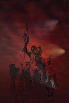 Spanish Cavalry by Angel Jesus De la Fuente