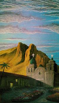 Spanish mission by Paul ONeill