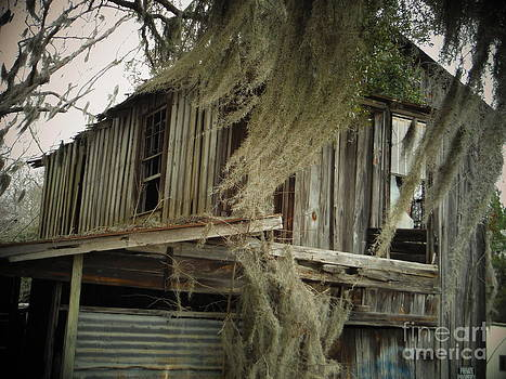 Paddy Shaffer - Spanish Moss And An Old Building