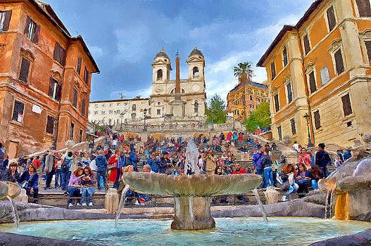 Spanish Steps by SM Shahrokni