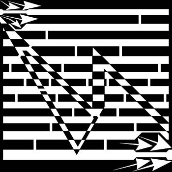 Spark Gap Maze by Yonatan Frimer Maze Artist