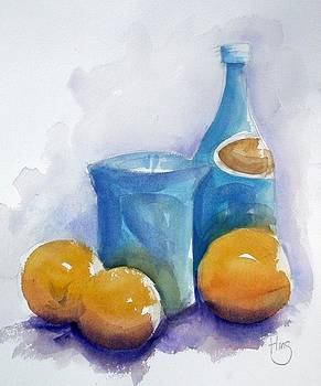 Sparking Water and Oranges by Andrew Fling