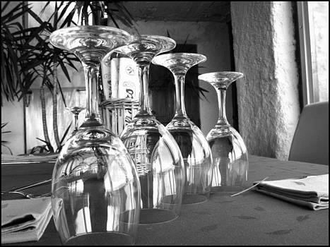 Sparkling Glasses by Oscar Alvarez Jr