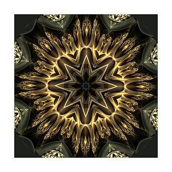 Sparkling Kaleido Diamonds II by Ck Gandhi