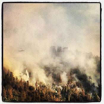 Sparks Fire #sparksfire #wrightwood by HK Moore