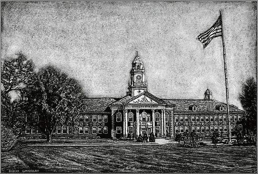 Spaulding High School - Rochester NH by Robert Goudreau