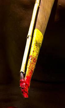 Spear Thrower Woomera by Debbie Cundy