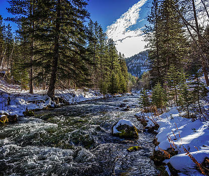Ray Van Gundy - Spearfish Creek in Spearfish Canyon