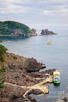 Spectacular Rugged Japanese Coastline - the Noto Peninsula - Ishikawa Prefecture - Japan by David Hill