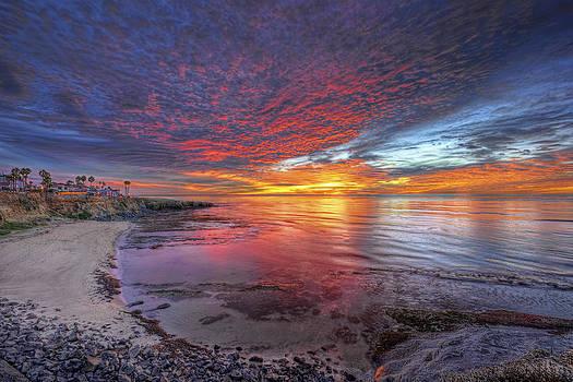 Spectacular Sunset by Mark Whitt