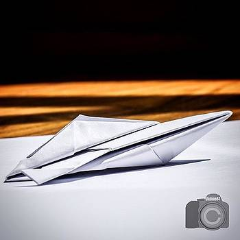 Speedboat Of Paper by David Lopez