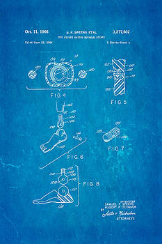 Ian Monk - Speers G I Joe Action Man 2 Patent Art 1966 Blueprint