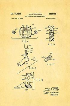 Ian Monk - Speers G I Joe Action Man 2 Patent Art 1966