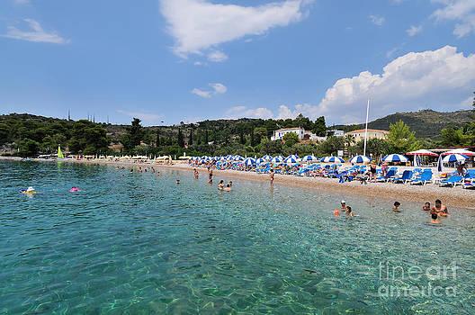 George Atsametakis - Agii Anargiri beach in Spetses island