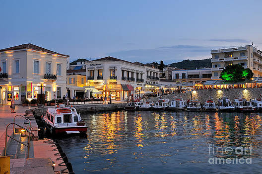 George Atsametakis - Spetses town
