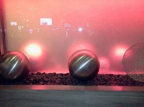 Sphere in Pink by Karen Jensen