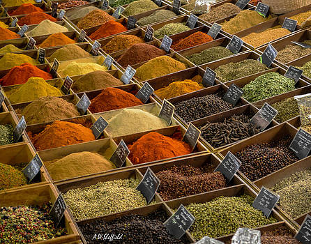Allen Sheffield - Spices at Marche Provencal