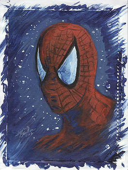 Spider Man 01 by Simon Drohen