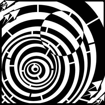 Spin Art Loose Ball Maze by Yonatan Frimer Maze Artist