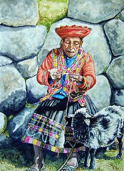 Spinner Machu Pichu by Kirsten Beitler