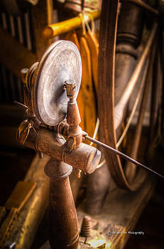 Spinning Wheel Detail by Al Griffin