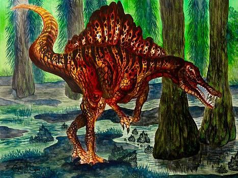 Spinosaurus by Gabriel Cajina