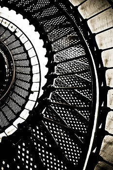 Vintage Lighthouse Staircase by Ioana Todor