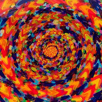 Spiral Color 14-49 by Patrick OLeary