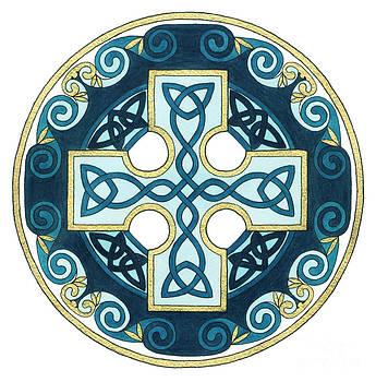 Spiral Cross by Cari Buziak