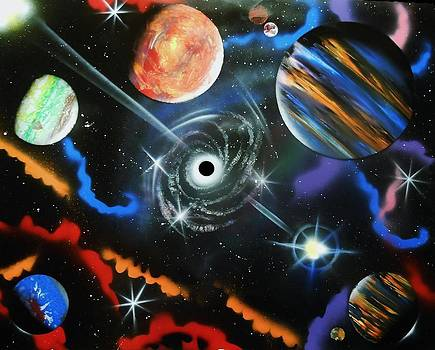 Spiral Galaxy by Amy LeVine