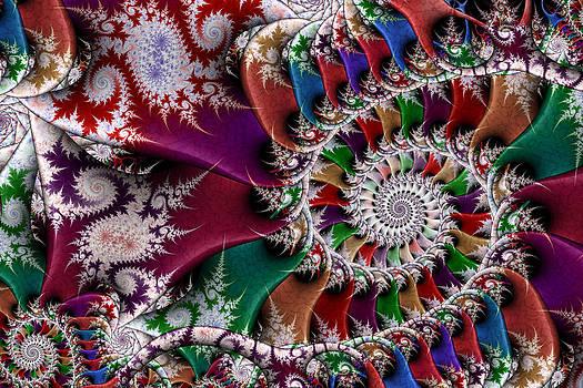 Spiral Mosaic by Ross Hilbert