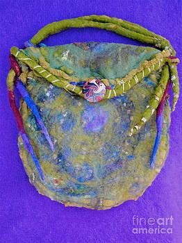 Spiral Moss Bag by Mirinda Reynolds