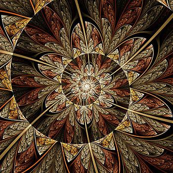 Spiral Plume II by Ross Hilbert