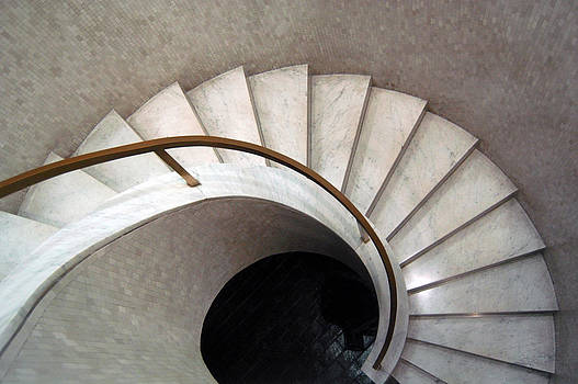 Spiral Stair - Denys Lasdun by Peter Cassidy